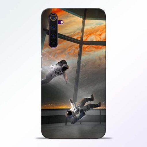 Astronaut Realme 6 Pro Back Cover