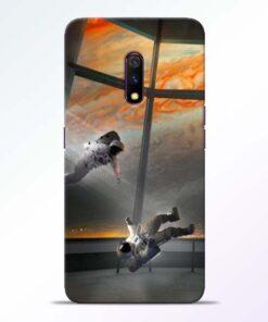 Astronaut Realme X Back Cover
