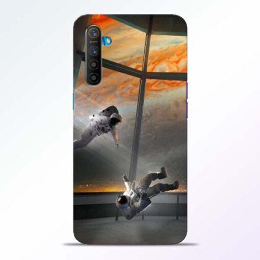 Astronaut Realme XT Back Cover