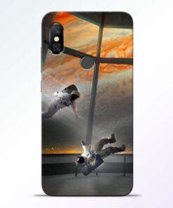 Astronaut Redmi Note 6 Pro Back Cover