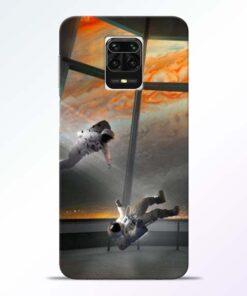 Astronaut Redmi Note 9 Pro Max Back Cover