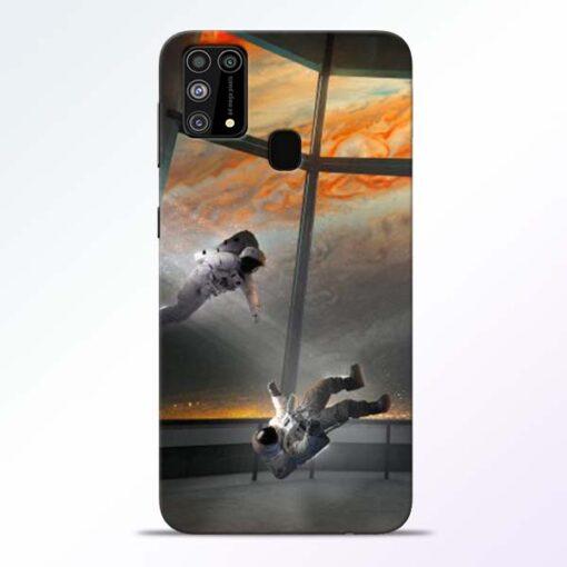 Astronaut Samsung Galaxy M31 Back Cover