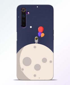 Astronout Space Realme 6 Back Cover