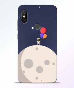 Astronout Space Redmi Note 6 Pro Back Cover
