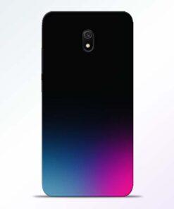 Black Aura Redmi 8A Back Cover