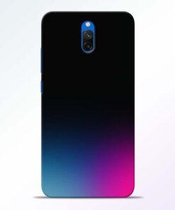 Black Aura Redmi 8A Dual Back Cover