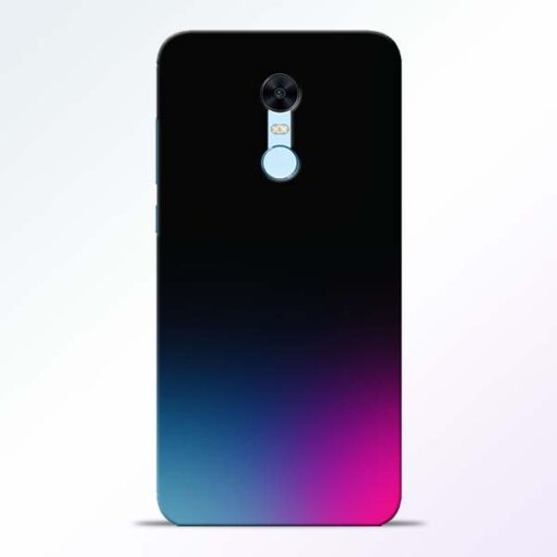 Black Aura Redmi Note 5 Back Cover