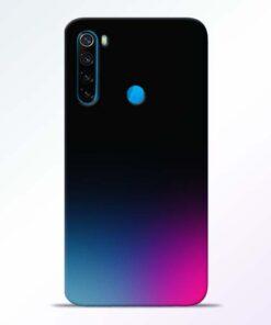 Black Aura Redmi Note 8 Back Cover