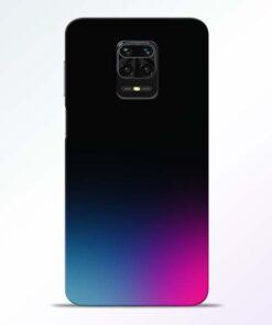 Black Aura Redmi Note 9 Pro Back Cover