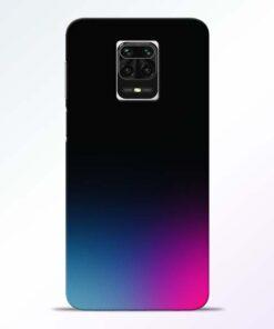 Black Aura Redmi Note 9 Pro Max Back Cover