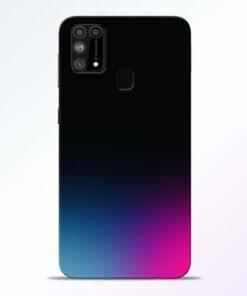 Black Aura Samsung Galaxy M31 Back Cover