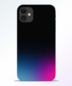Black Aura iPhone 11 Back Cover