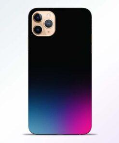 Black Aura iPhone 11 Pro Back Cover