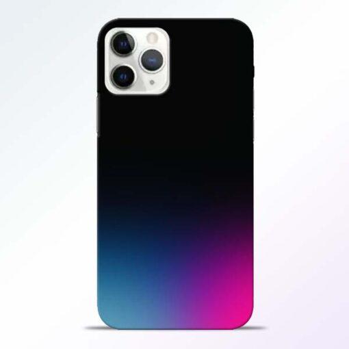 Black Aura iPhone 11 Pro Max Back Cover