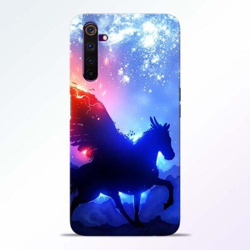 Black Horse Realme 6 Pro Back Cover