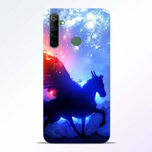 Black Horse Realme 6i Back Cover