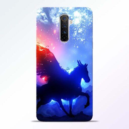 Black Horse Realme X2 Pro Back Cover