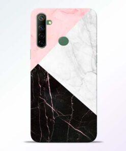 Black Marble Realme 6i Back Cover