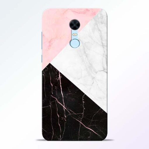 Black Marble Redmi Note 5 Back Cover