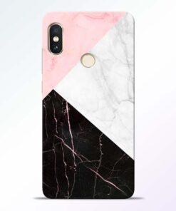 Black Marble Redmi Note 5 Pro Back Cover