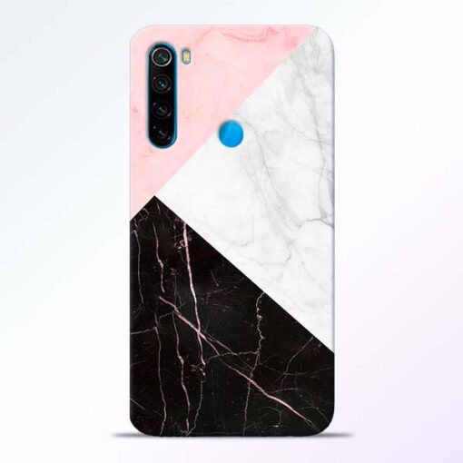 Black Marble Redmi Note 8 Back Cover