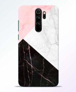 Black Marble Redmi Note 8 Pro Back Cover