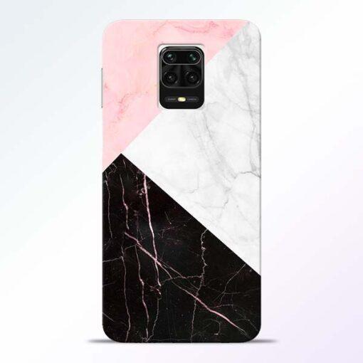 Black Marble Redmi Note 9 Pro Max Back Cover