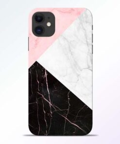 Black Marble iPhone 11 Back Cover