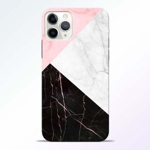 Black Marble iPhone 11 Pro Max Back Cover