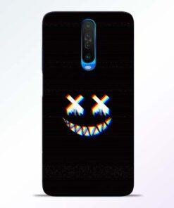 Black Marshmallow Poco X2 Back Cover