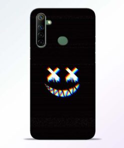 Black Marshmallow Realme 6i Back Cover