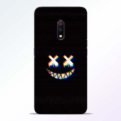Black Marshmallow Realme X Back Cover