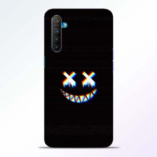 Black Marshmallow Realme XT Back Cover