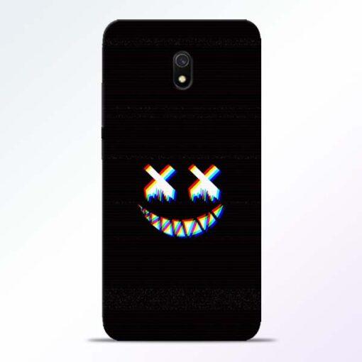 Black Marshmallow Redmi 8A Back Cover