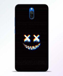Black Marshmallow Redmi 8A Dual Back Cover