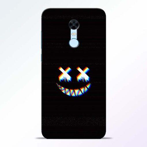 Black Marshmallow Redmi Note 5 Back Cover