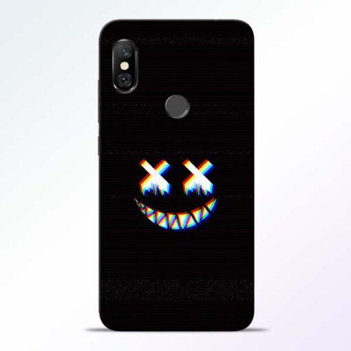 Black Marshmallow Redmi Note 6 Pro Back Cover