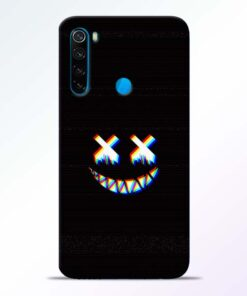 Black Marshmallow Redmi Note 8 Back Cover