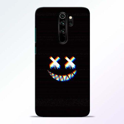 Black Marshmallow Redmi Note 8 Pro Back Cover