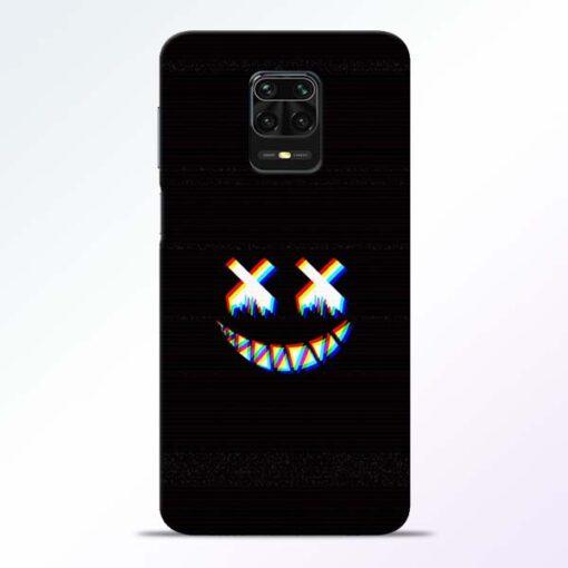 Black Marshmallow Redmi Note 9 Pro Back Cover