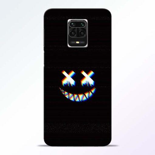 Black Marshmallow Redmi Note 9 Pro Max Back Cover