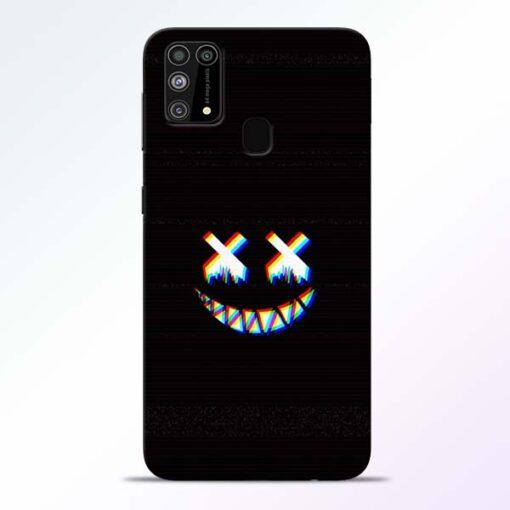 Black Marshmallow Samsung Galaxy M31 Back Cover
