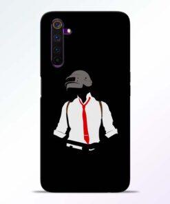 Black Pubg Realme 6 Pro Back Cover