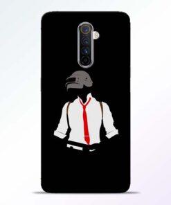 Black Pubg Realme X2 Pro Back Cover
