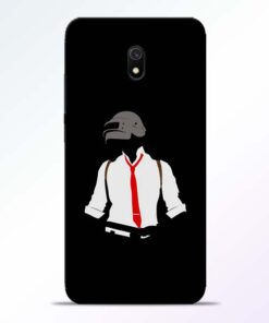 Black Pubg Redmi 8A Back Cover