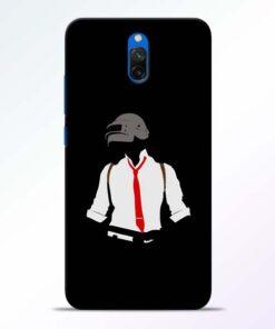 Black Pubg Redmi 8A Dual Back Cover