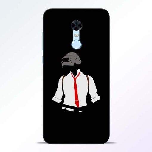 Black Pubg Redmi Note 5 Back Cover