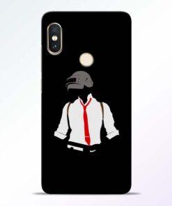 Black Pubg Redmi Note 5 Pro Back Cover