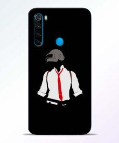 Black Pubg Redmi Note 8 Back Cover