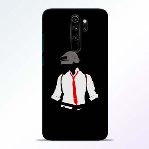 Black Pubg Redmi Note 8 Pro Back Cover